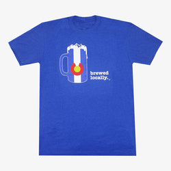 Brewed Locally Colorado T-Shirt