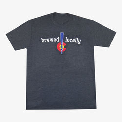 Brewed Locally Tap Colorado T-Shirt