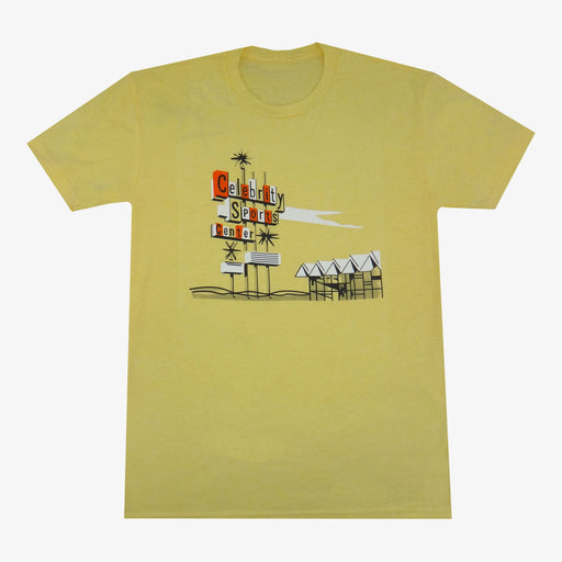 Aksels Celebrity Sports T-Shirt - Yellow