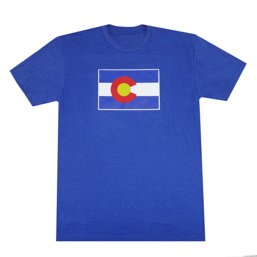 Colorado Flag T-Shirt - Royal