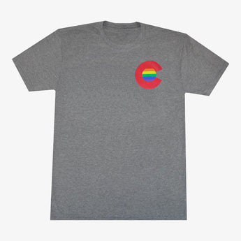 Colorado Rainbow C Men's T-Shirt