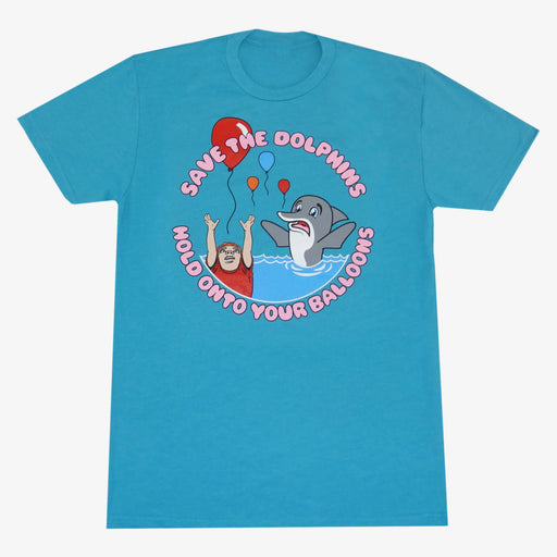 Aksels Save the Dolphins T-Shirt - Aqua
