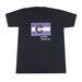 Colorado Grown Locally T-Shirt - Black/Purple