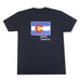 Colorado Grown Locally T-Shirt - Black