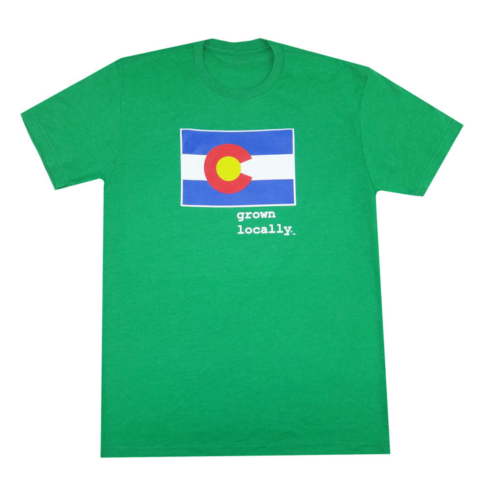 Colorado Grown Locally T-Shirt - Green