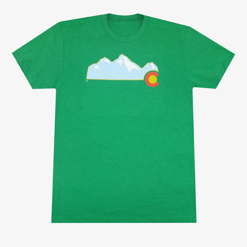 Colorado Mountain T-Shirt - Gray