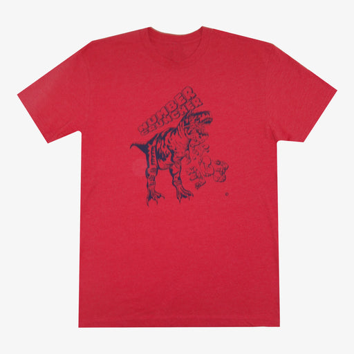 Aksels Number Cruncher T-Shirt - Red