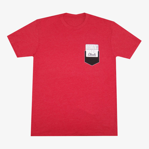 Aksels Pocket Protector T-Shirt - Red