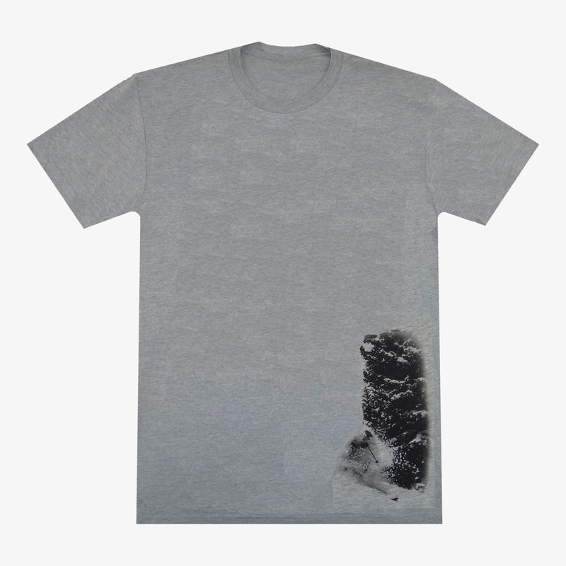 Aksels Pow Pow T-Shirt - Charcoal