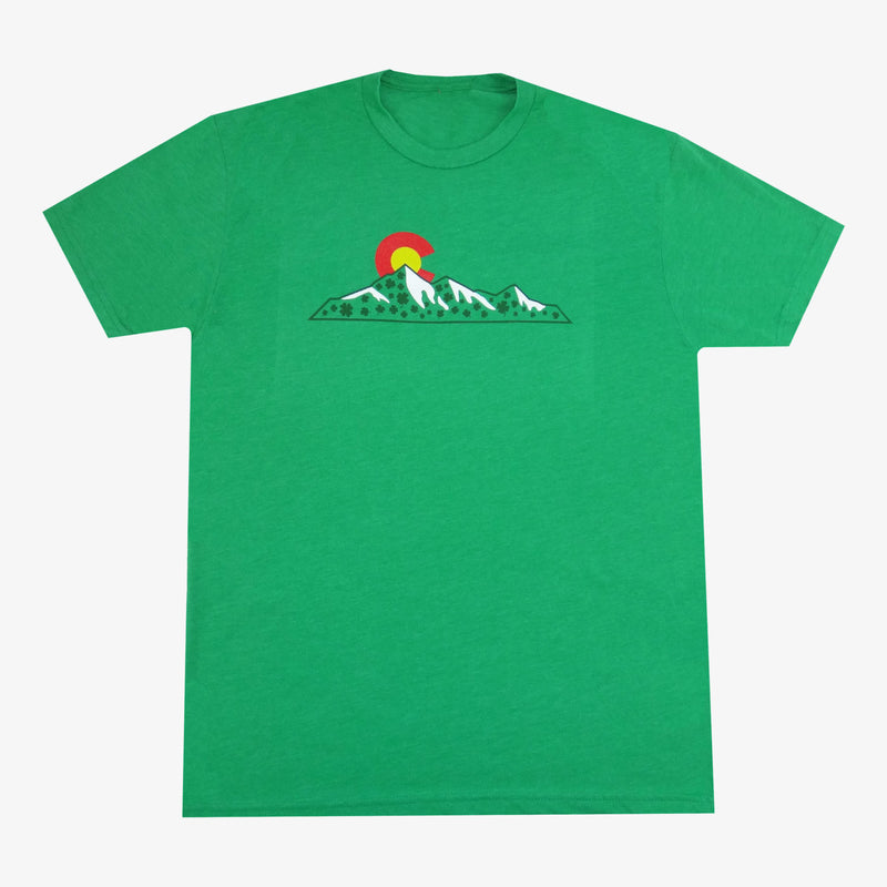 Colorado Shamrock Mountian T-Shirt