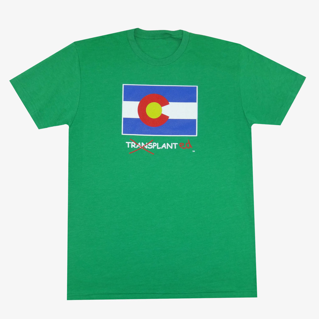Colorado Transplanted T-Shirt - Green