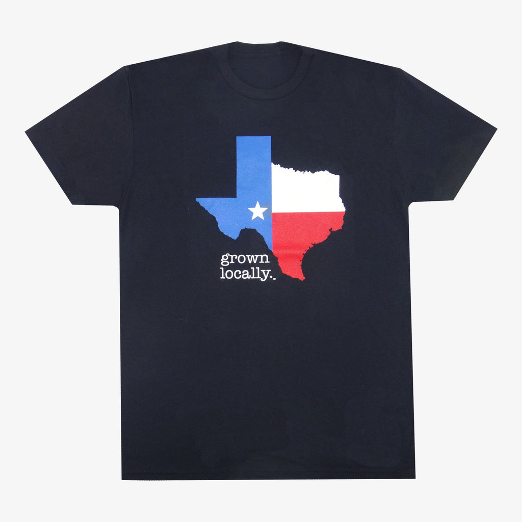 Aksels Grown Locally Texas T-Shirt - Black