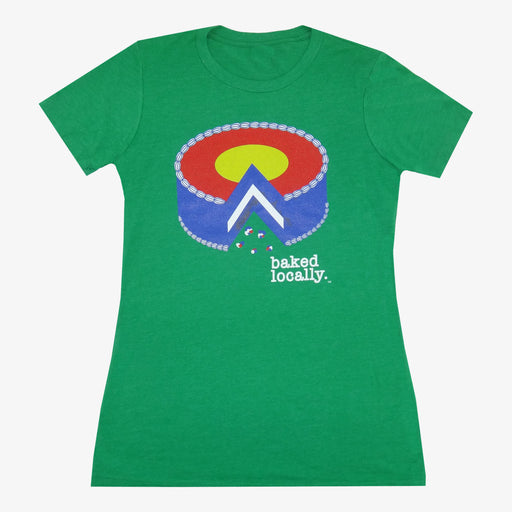 Women's Colorado Baked Locally T-Shirt - Green
