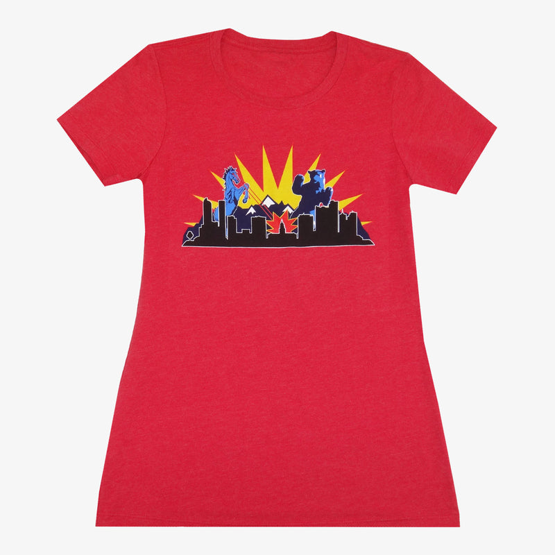 Women's Denver Battle T-Shirt - Royal