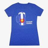Brewed Locally Colorado Women's T-Shirt