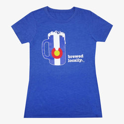 CO Brewed Locally Women's Tee