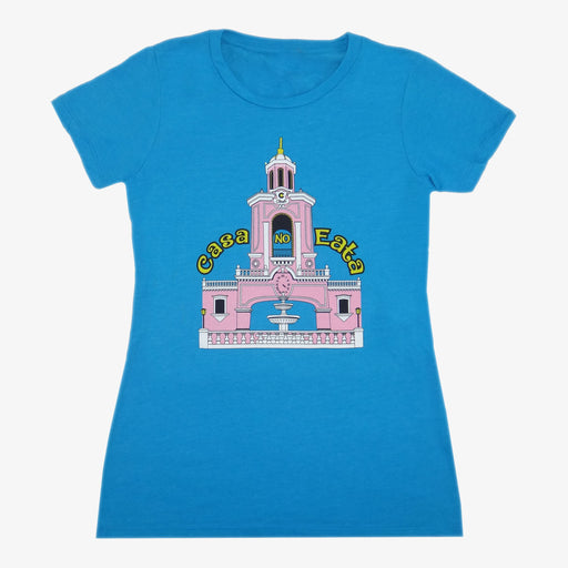 Women's Casa No Eata T-Shirt - Aqua