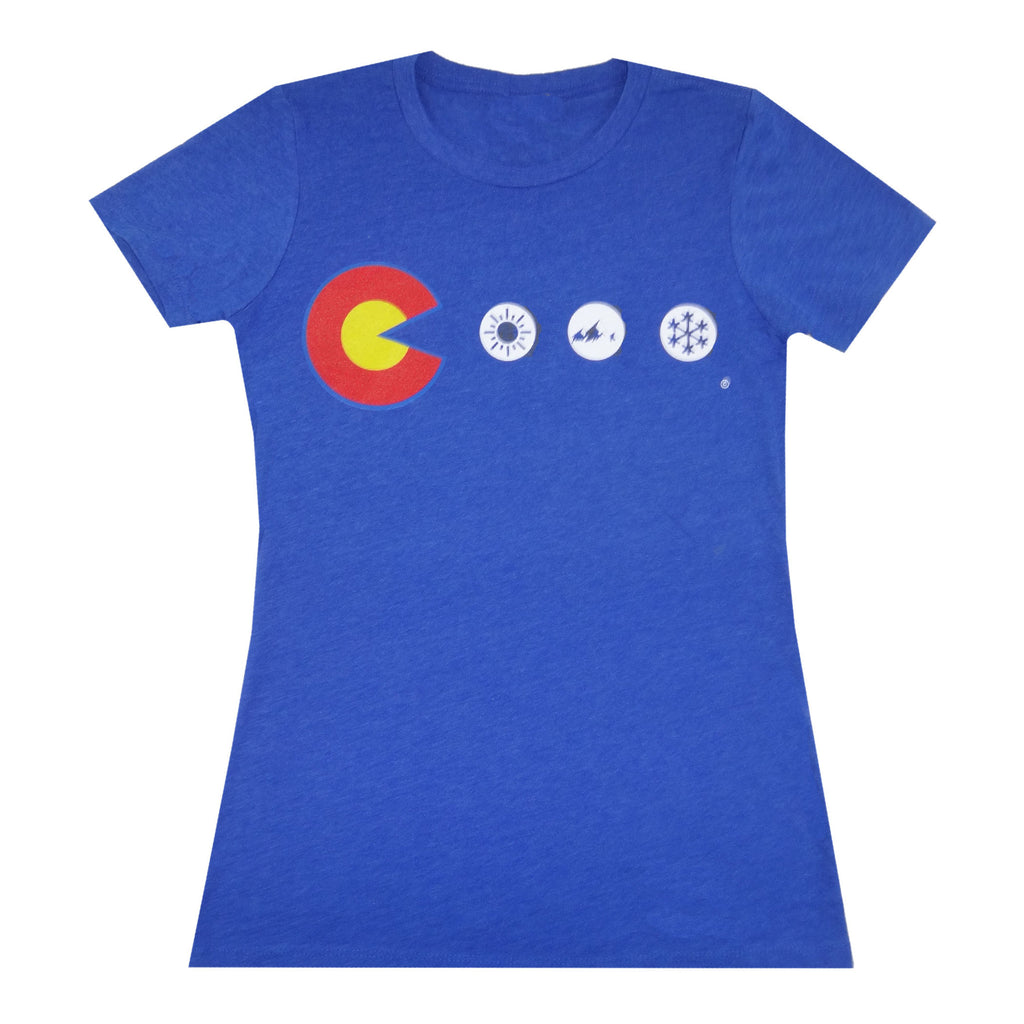Women's Colorado Dots T-Shirt - Royal