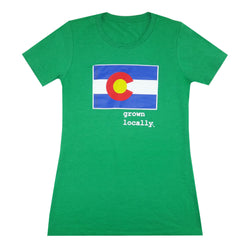 Grown Locally Colorado Women's T-Shirt
