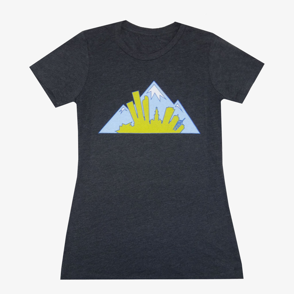 Women's Colorado Montage T-Shirt - Baby Blue