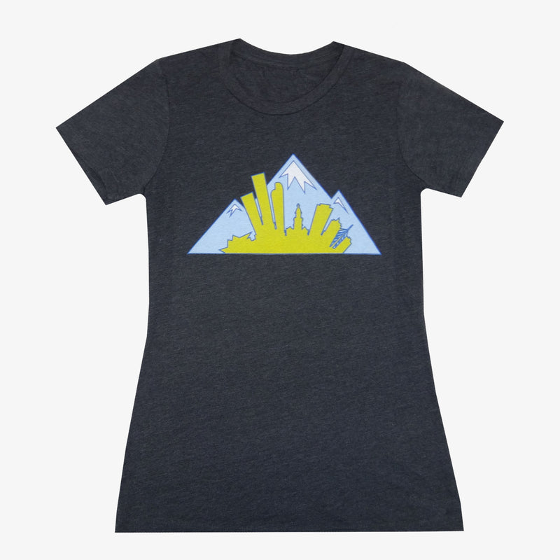 Women's Colorado Montage T-Shirt - Black
