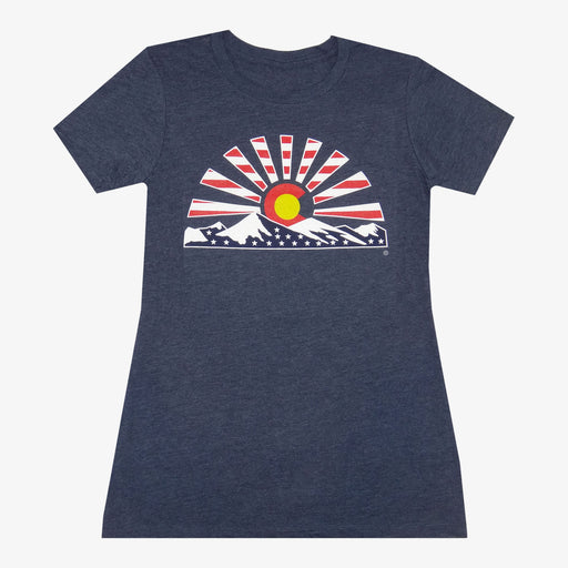 Women's Colorado Sunset Stars T-Shirt