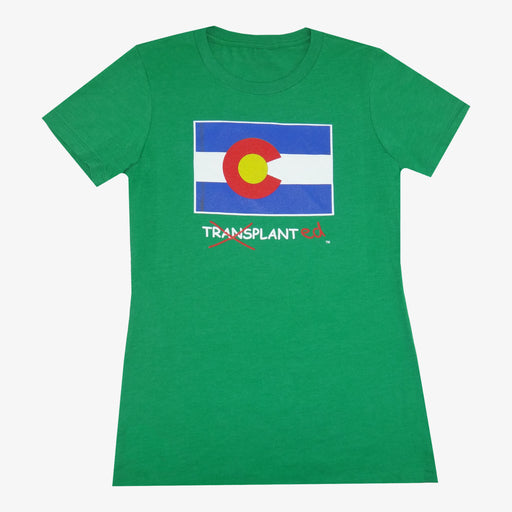Women's Colorado Transplanted T-Shirt - Green