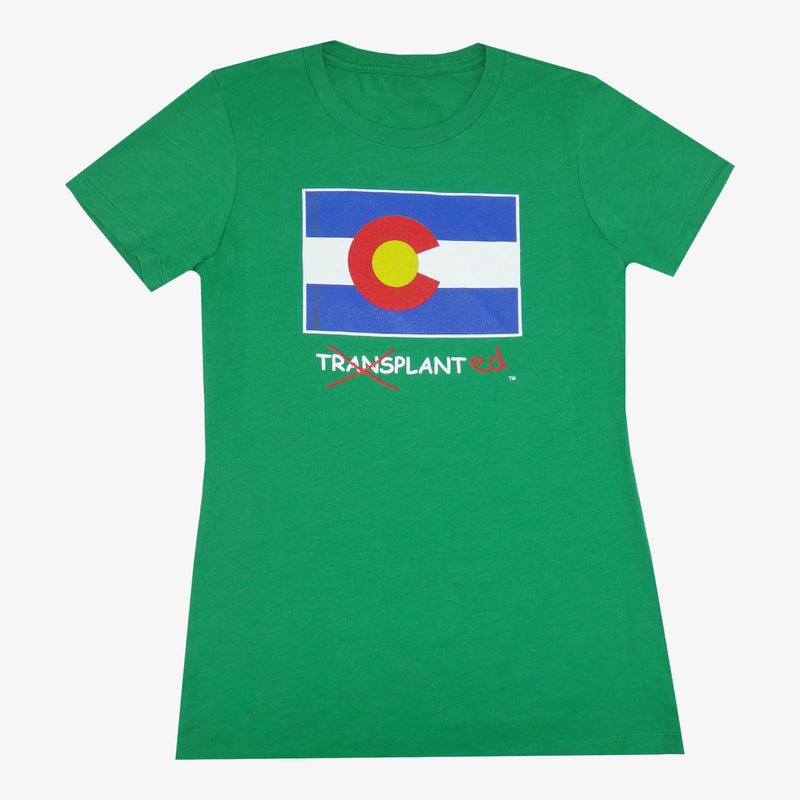 Women's Colorado Transplanted T-Shirt - Charcoal