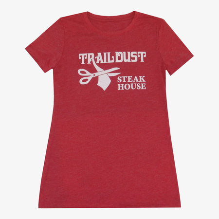 Women's Trail Dust T-Shirt - Red