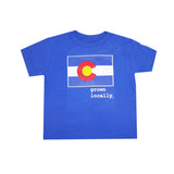 Toddler Colorado Grown Locally T-Shirt