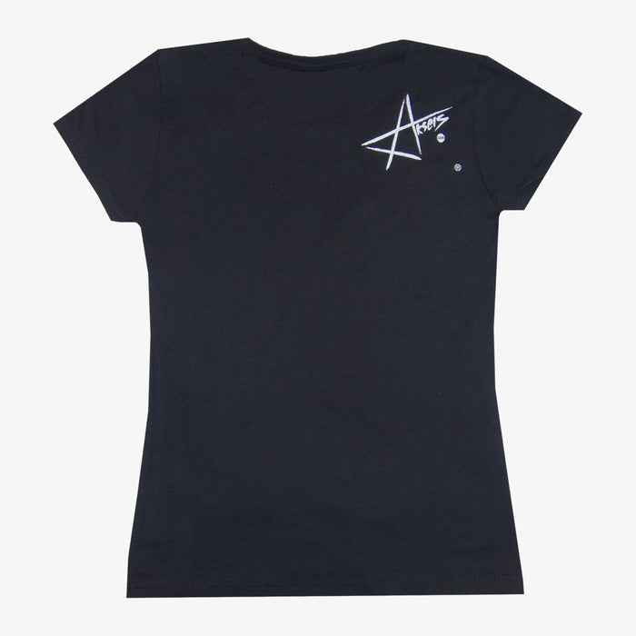 Women's Aksels Pow Pow T-Shirt - Black
