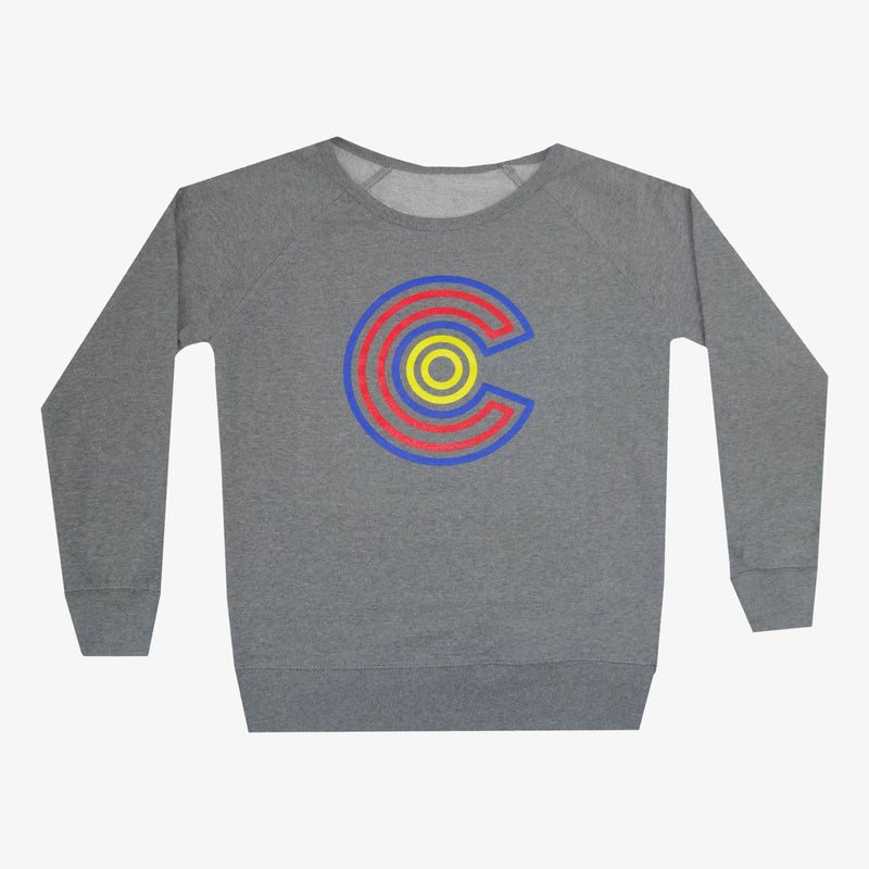 Women's Colorado Maze Crew Neck Sweatshirt