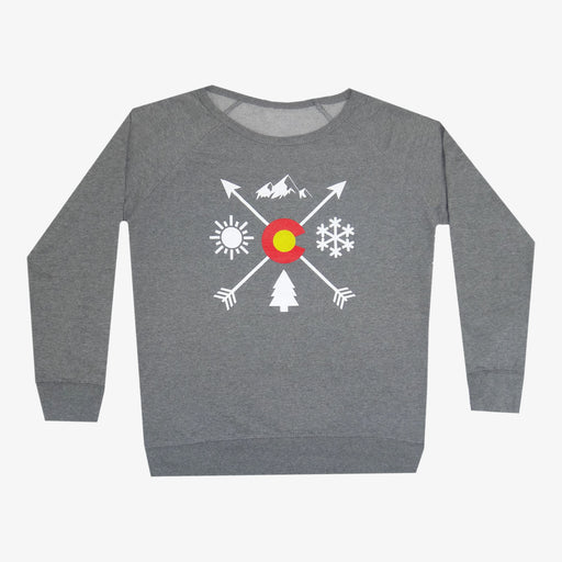 Women's Colorado Arrows Crew Neck Sweatshirt