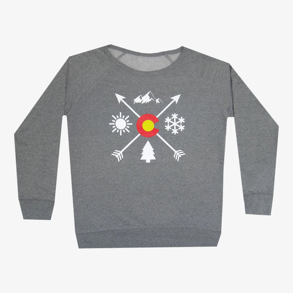 Colorado Arrows Women's Crew Neck Sweatshirt
