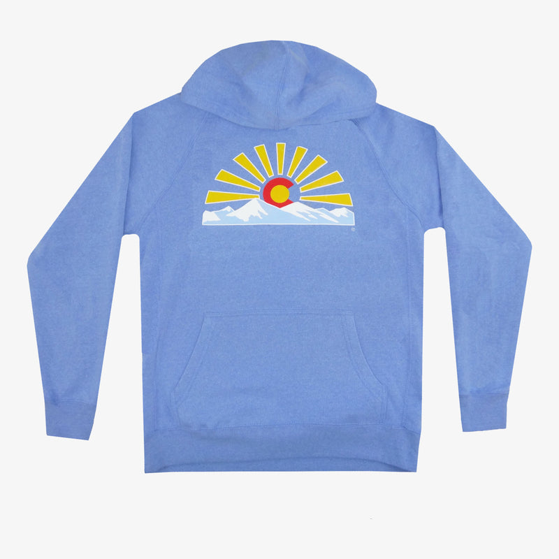 Colorado Sunset Hoodie - Charcoal