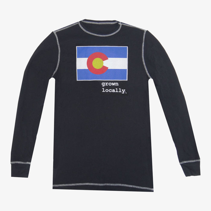 Colorado Grown Locally Thermal - Black