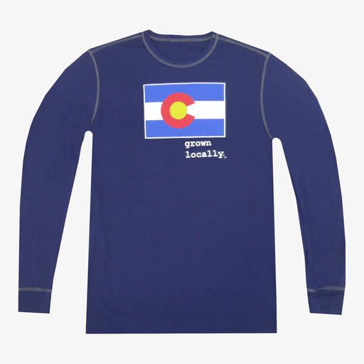 Colorado Grown Locally Thermal - Navy