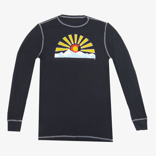 Colorado Sunset Thermal - Black