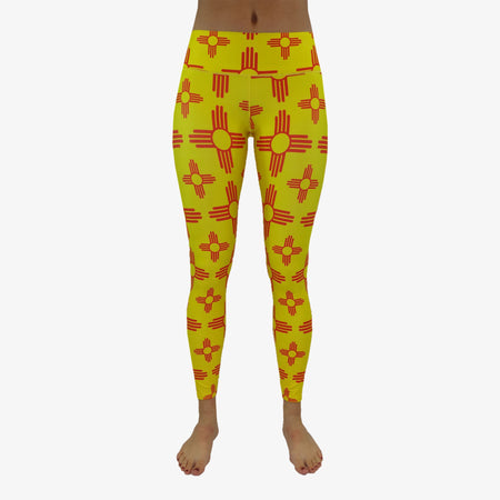 Women's All Over New Mexico Zia Yoga Pant