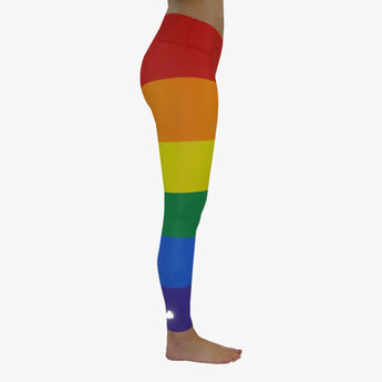 Women's Rainbow Pride Yoga Pant