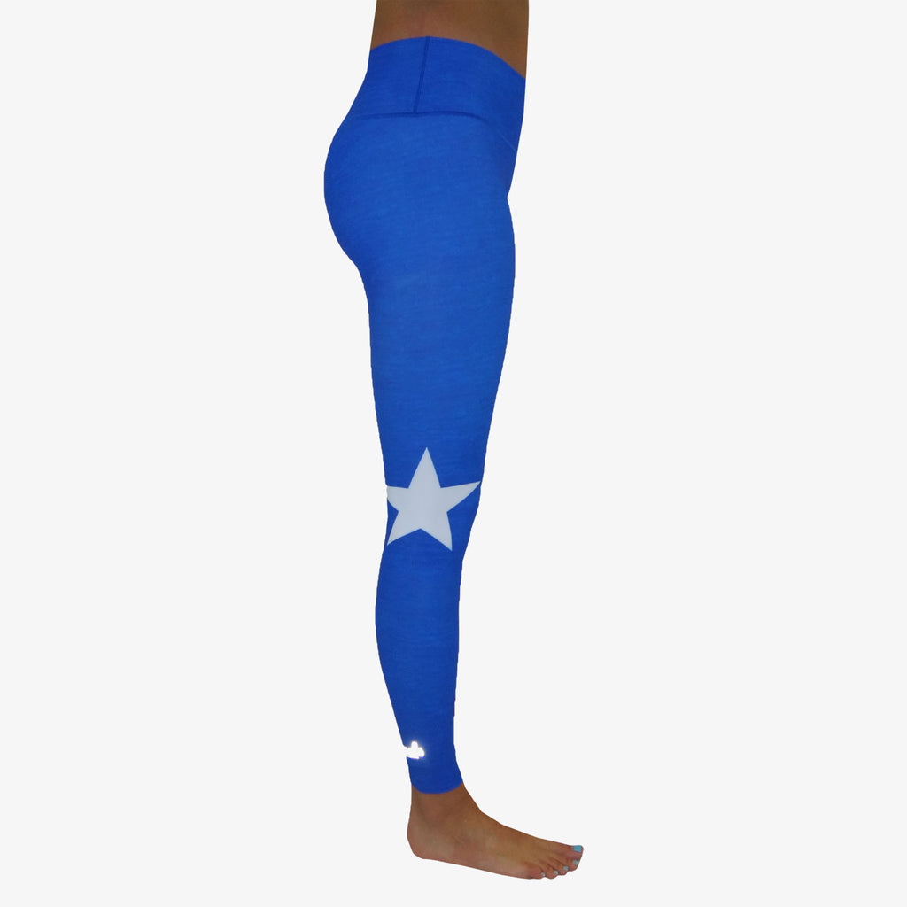 Women's Texas Flag Yoga Pant