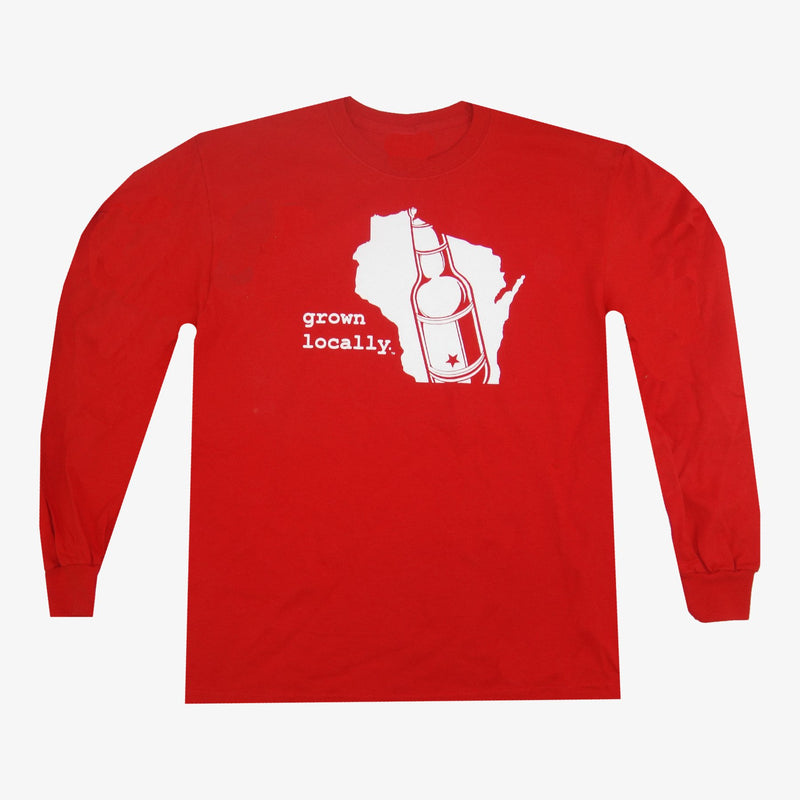 Aksels Wisconsin Grown Locally Long Sleeve