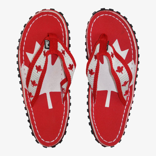 Canadian Flag Sandals