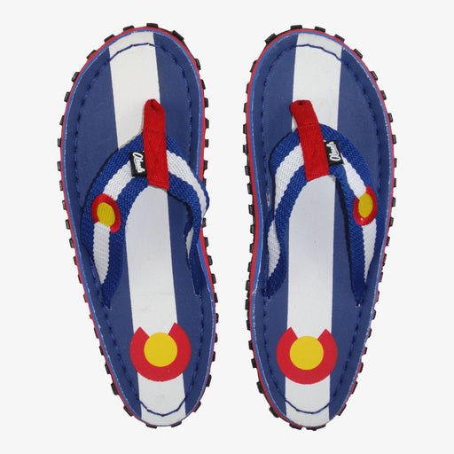 Aksels Colorado Flag Sandals