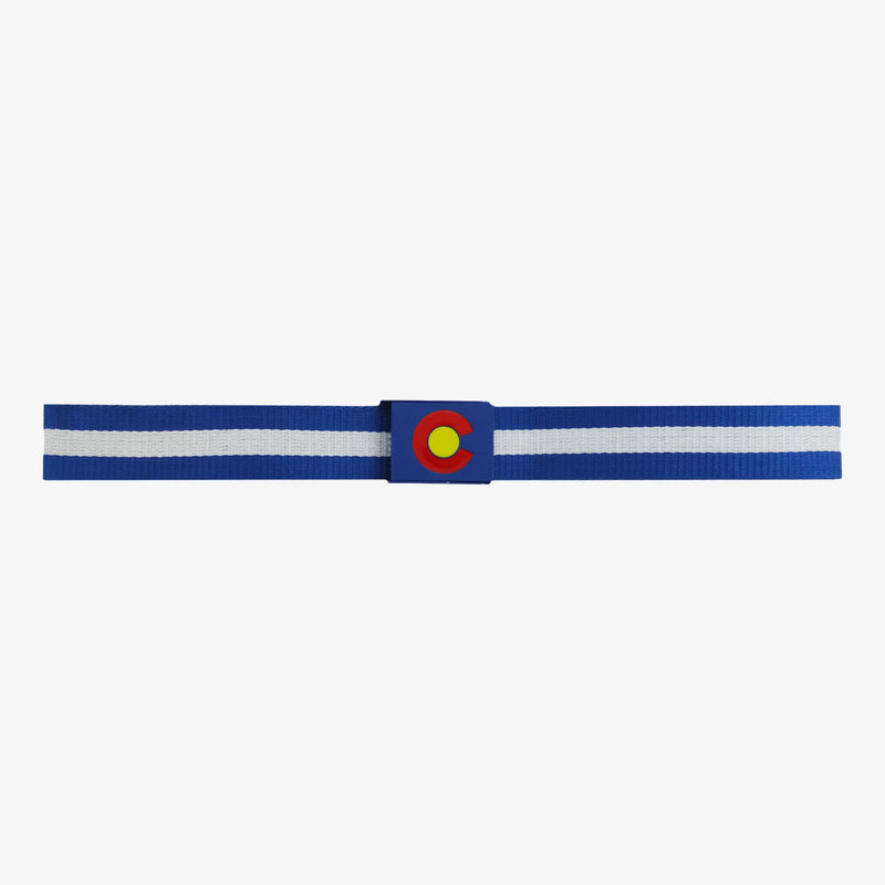 Colorado Flag Belt