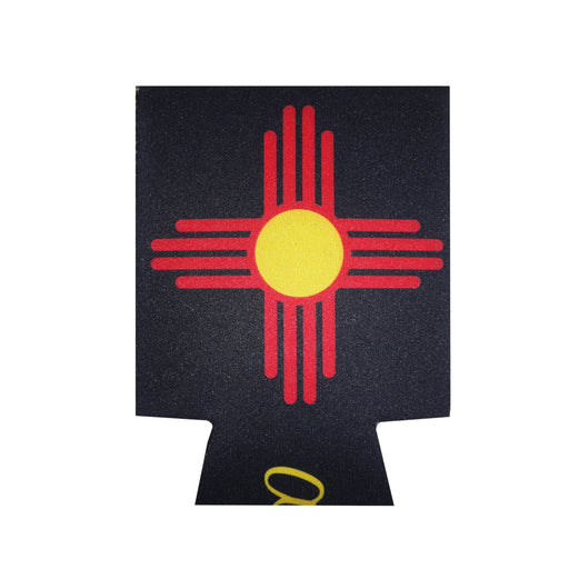 Aksels New Mexico Flag Can Cooler - Black