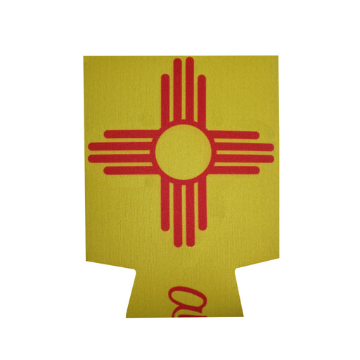 Aksels New Mexico Flag Can Cooler - Yellow