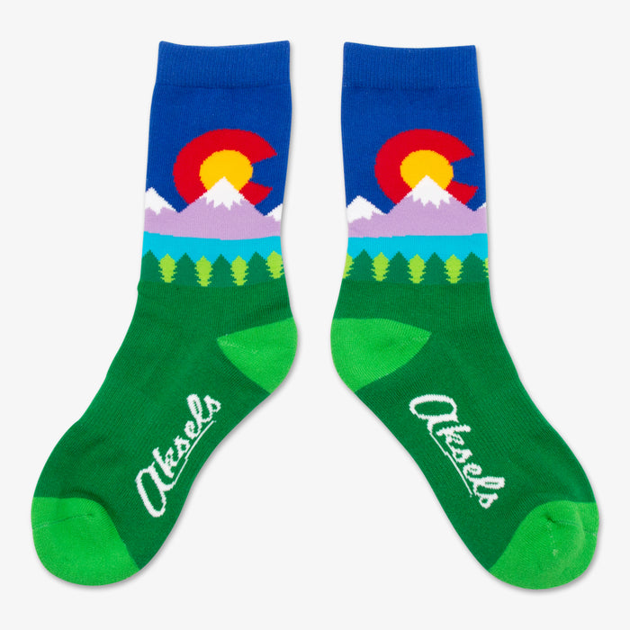 Aksels Youth Colorado Lake Socks