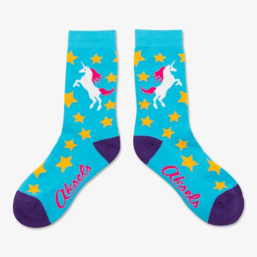 Aksels Youth Unicorn Socks