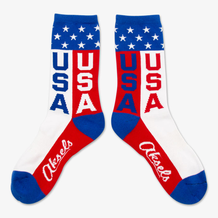 Aksels Youth USA Socks